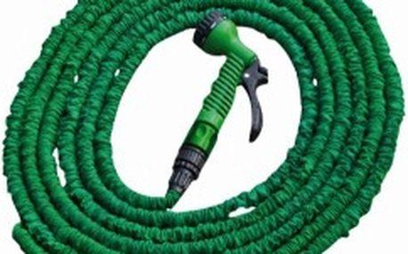 BRADAS TRICK HOSE 5-15m hadice zahradní, zelená, vč.pistole 7 funkcí