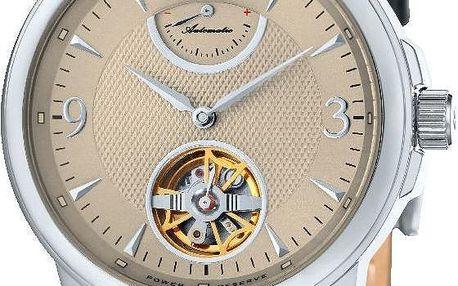 Pánské hodinky Thomas Earnshaw Metallic Black/Brown - doprava zdarma!