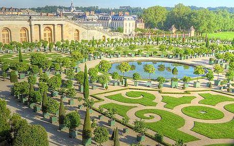 Letní Paříž včetně prohlídky zámku Versailles za 2098 Kč za osobu, 4-denní poznávací zájezd v termínu 6. - 9.7.2015