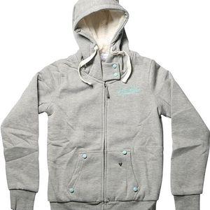 mikina SANTA CRUZ - Shardik Grey Speckle (GY SPECKLE) velikost: L
