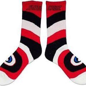 ponožky SANTA CRUZ - Rob Eye (BK-5947) velikost: OS
