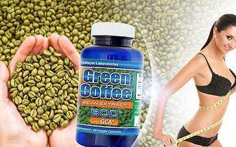 1x 60 kapslí GREEN COFFEE EXTRACT! Nejsilnější 100% přírodní přípravek na českém trhu pro RYCHLÉ HUBNUTÍ!