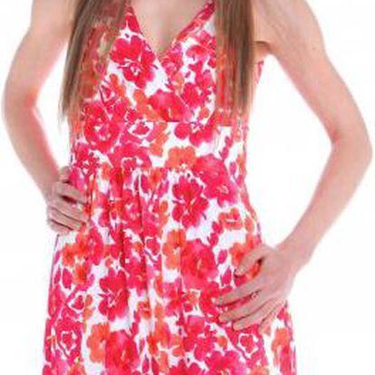 Krásné dámské šaty od proslulé značky Chaps z portfolia skupiny Ralph Lauren Chaps WCA45CAP39 L růžová