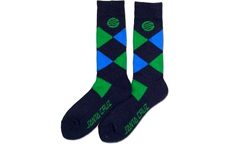 ponožky SANTA CRUZ - Valet (BK) velikost: OS