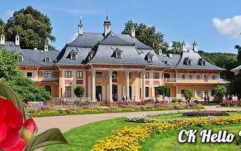 Zámek a zahrady Pillnitz a Drážďany