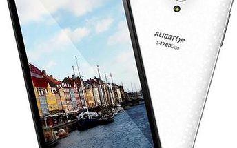 Aligator S4700 Duo HD White