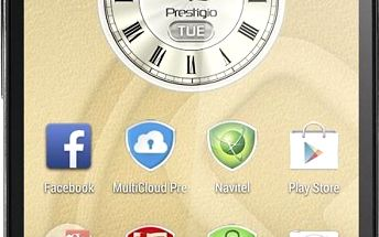 PRESTIGIO MultiPhone 5508 DUO stříbrný