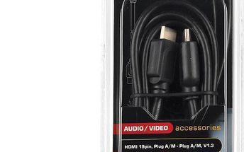 Sencor SAV 162-025 HDMI A-A SILVER 2,5m