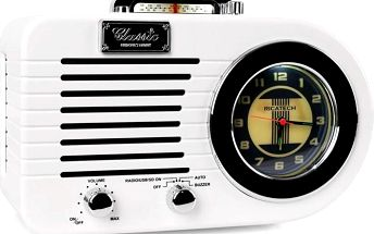 Ricatech PR220 Nostalgic Radio Off White