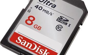 Sandisk SDHC 8GB CL10 40MBs
