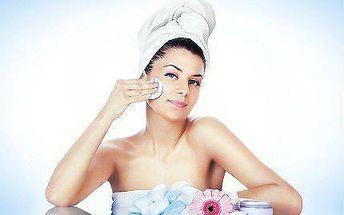 Exkluzivní kosmetické ošetření pleti + lymfodrenáž