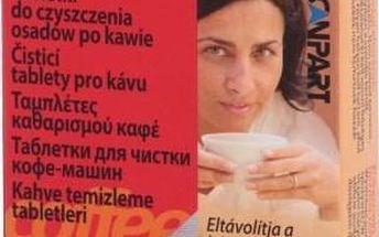SCANPART Čistící tablety do kávovarů 10 ks