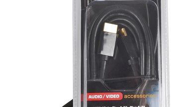 Sencor SAV 166-025 HDMI A-A GOLD 2,5m P