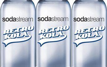 SodaStream Lahev TriPack 1l Retro kola
