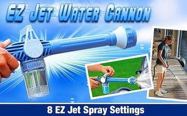 Jedinečné vodní dělo, které udrží dům, zahradní nábytek, auto či venkovní dlažbu v čistotě jen za 199 Kč.