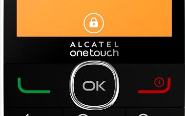 ALCATEL 2004G Pure White