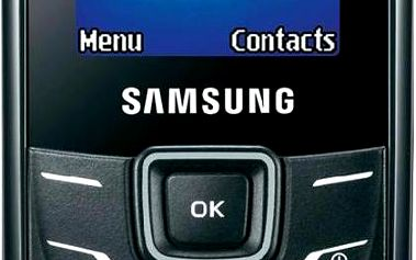 Samsung GT E1200 Black