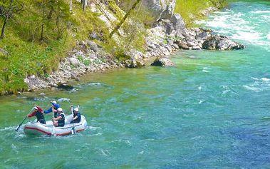 Adrenalinový sjezd na raftech v Itálii