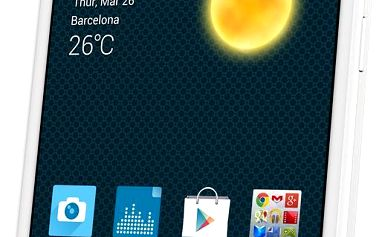 Alcatel One Touch 7043K POP 2 LTE White