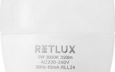RETLUX RLL 25 LED C37 5W E14