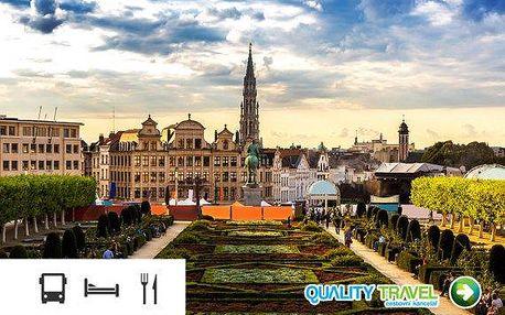 To nejlepší z Belgie – zájezd s ubytováním