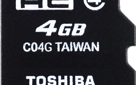 Toshiba MicroSDHC 4GB CL4