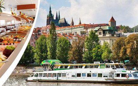 Romantická plavba po Vltavě s občerstvením