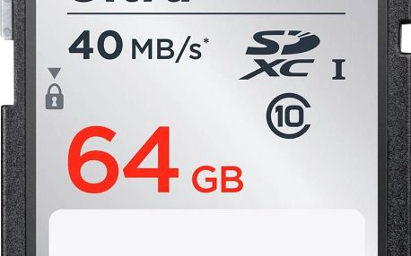 Sandisk SDXC 64GB CL10 40MBs