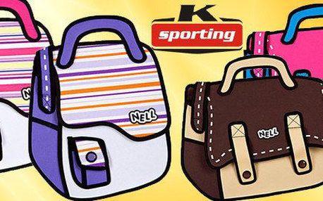 2D komiksové tašky Nell