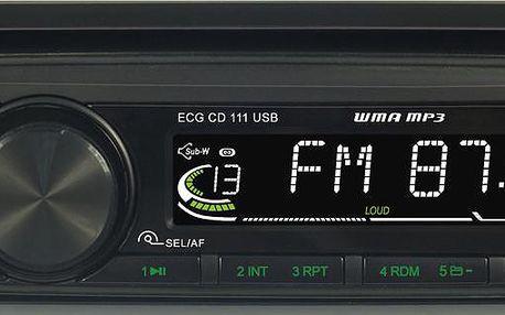 ECG CD 111 USB