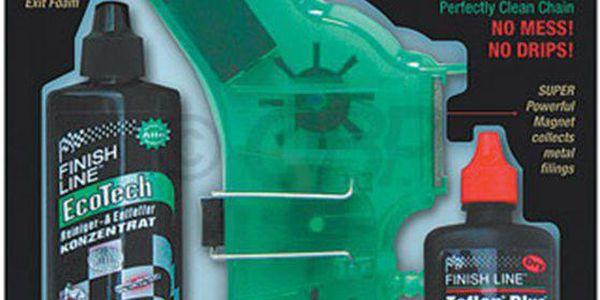 Sada pro čištění řetězu FINISH LINE Chain Cleaner Kit