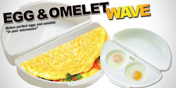 Omeleta z mikrovlnky!