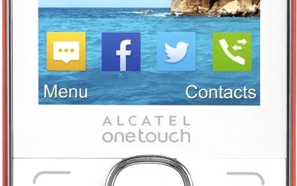 ALCATEL ONETOUCH 2007D Red