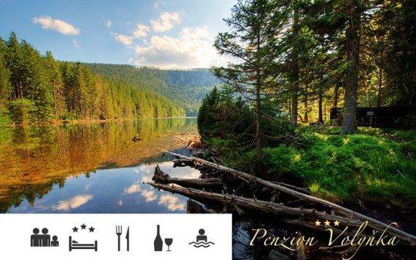 Šumava – až 5denní relax s polopenzí