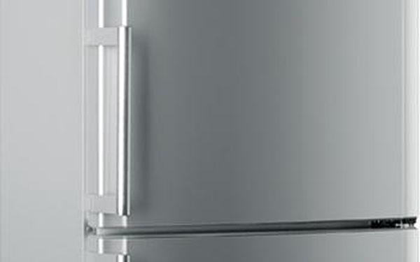 Kombinovaná lednička s mrazákem dole Hotpoint Ariston EBYH 20320 V (promáčklé dveře v horní a dolní části, promáčklý bok, škrábance na dvěřích)