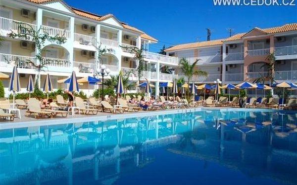 Hotel ADMIRAL TSILIVI, Zakynthos, Řecko, letecky, all inclusive