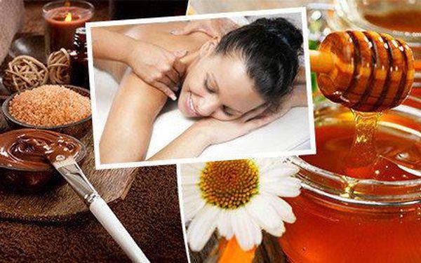 Vyberte si čokoládovou nebo medovou masáž