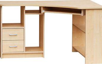 SCONTO JANA SC534P rohový PC stůl