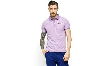 Scotch & Soda - Polo - levandulová, S