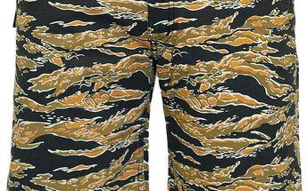 Kraťasy Backyard Cartel Label Dragon Camo camo / oranžová 36
