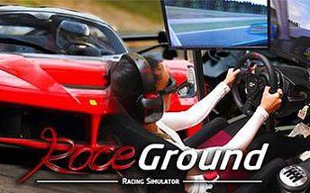 Jízda v závodních simulátorech: 1x, 2x nebo 4x 60 minut adrenalinu v Praze.