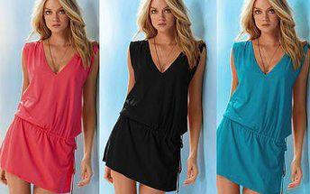 Trendy a stylové letní šaty zdobené korálky