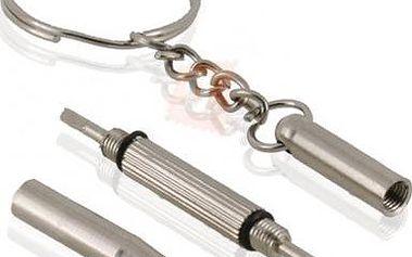 Multifunkční přívěsek na klíče - 3 v 1