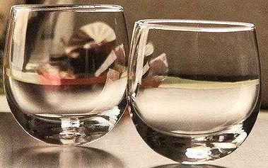 Luxusní houpací sklenice na whisky či rum