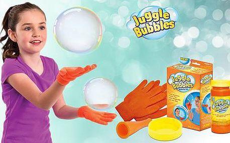 Bublifuk Juggle bubbles - bubliny, které neprasknou, poštovné zdarma