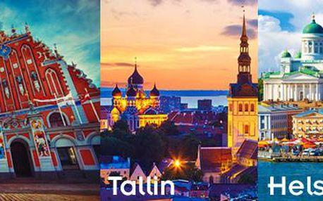 5denní expedice: krásy Pobaltí s návštěvou finských Helsinek! Zájezd pro 1 osobu.