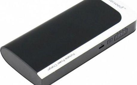 Powerbanka Powerseed PS-13000 black white