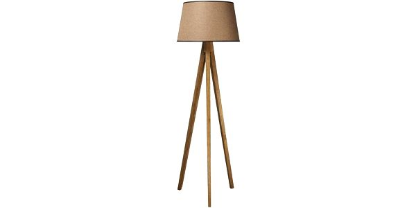 Tripod lampa Wood Light Brown - doprava zdarma!