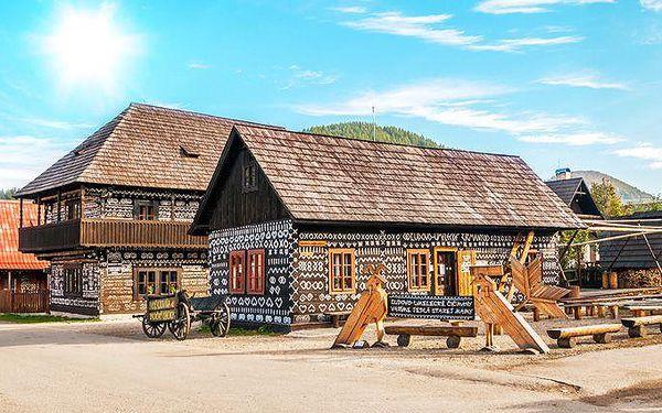Až 6denní pobyt pro 2 s polopenzí a ubytováním v Zámečku Čičmany na Slovensku