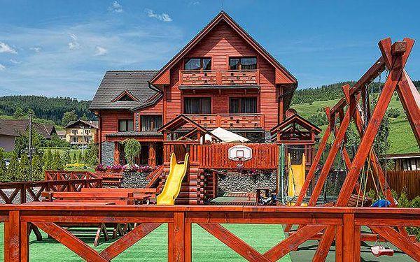 Až 4denní pobyt pro 2 s polopenzí v Belianských Tatrách v penzionu Winter&Summer Resort